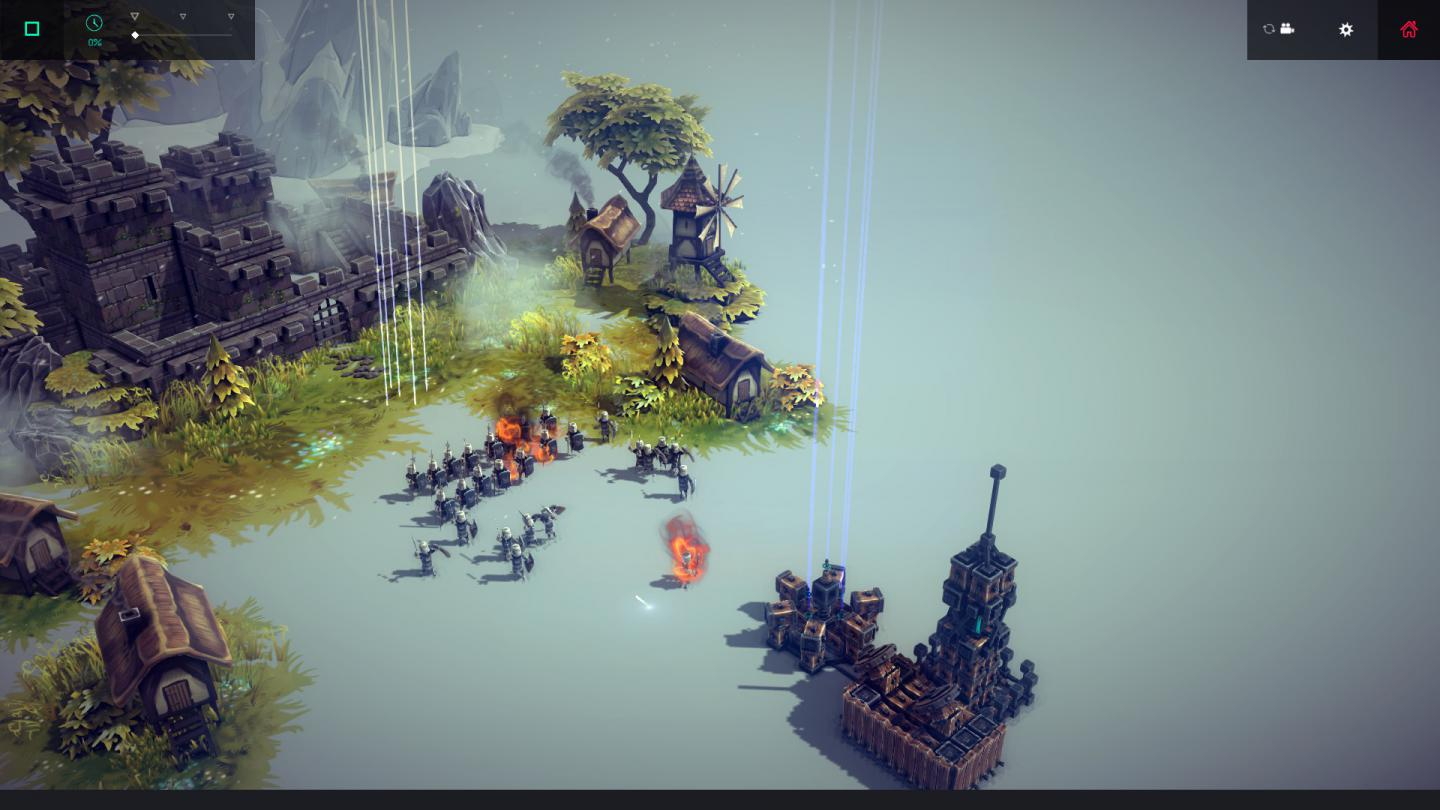 besiege has different blocks you can use to construct a war machine